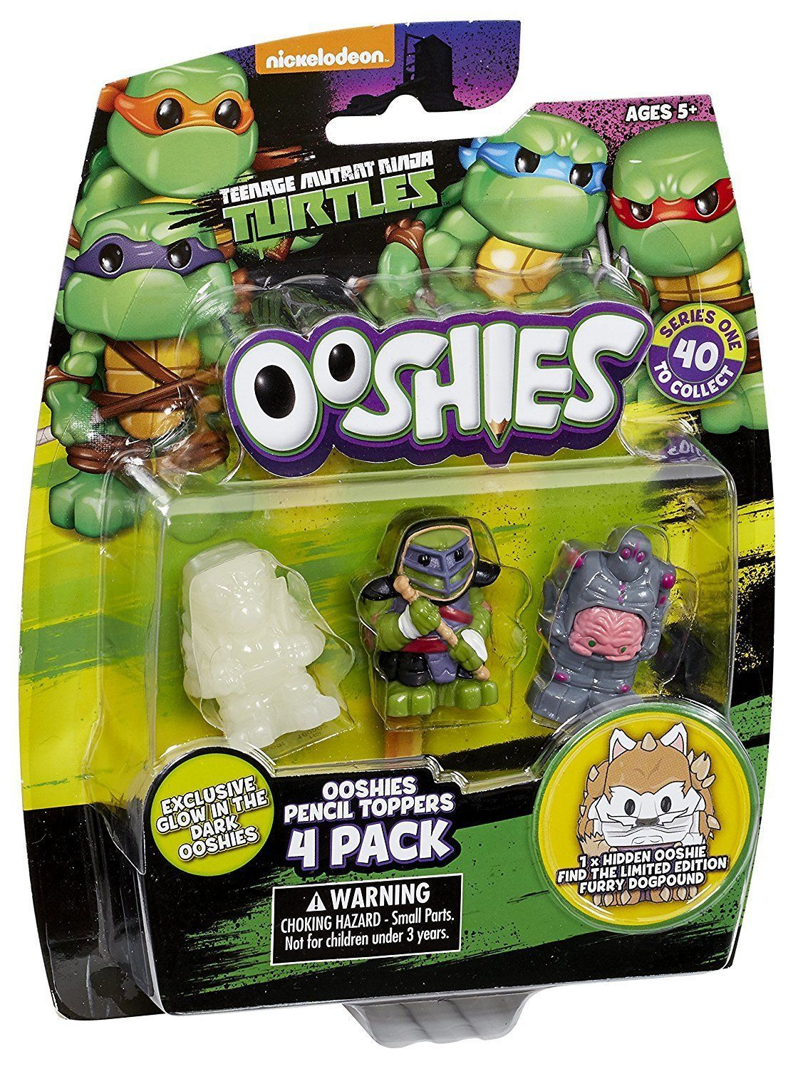 Ooshies 4 Pack Teenage Mutant Ninja Turtles